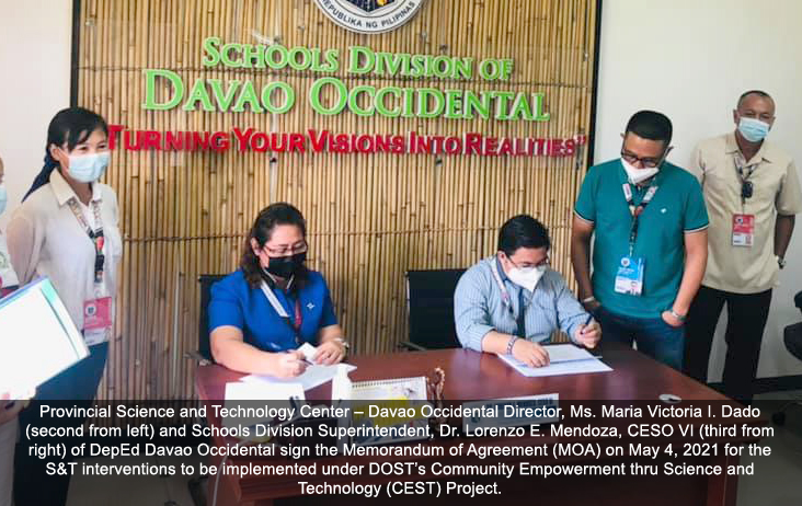 Occi MOA Signing with DepED